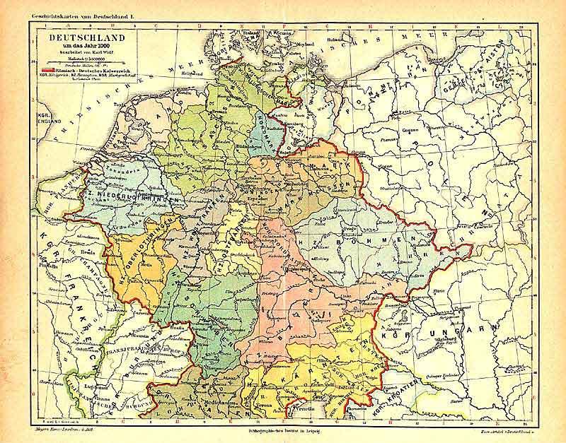 römisches reich landkarte